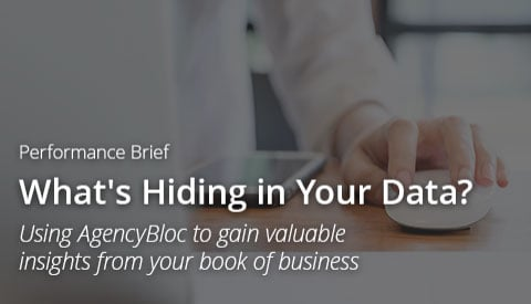 [Performance Brief] What's Hiding in Your Data: Using AgencyBloc to gain valuable insights from your book of business