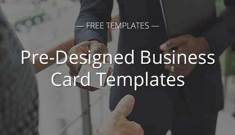 [Free Resource] Pre-Designed Business Card Templates