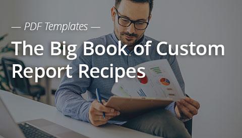 [PDF Download] The Big Book of Custom Report Recipes